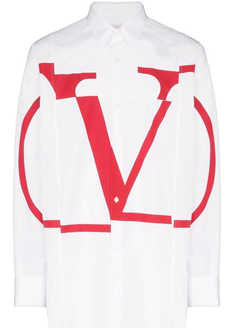 Valentino VLOGO print shirt