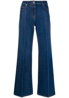 Valentino VLOGO wide-leg jeans