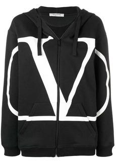 Valentino VLOGO zipped hoodie