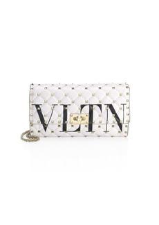 Valentino VLTD Rockstud Clutch Bag