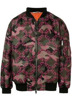 Valentino VLTN camouflage bomber