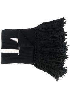 Valentino VLTN fringed scarf