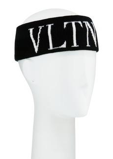 Valentino VLTN Knit Logo Headband