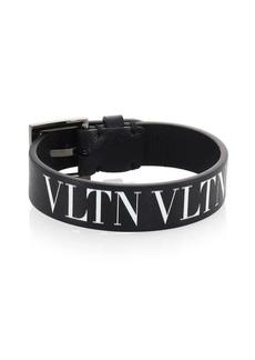 Valentino VLTN Leather Medium Bracelet