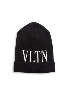 Valentino Garavani VLTN Logo Beanie