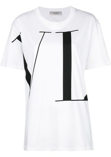 Valentino VLTN longline T-shirt