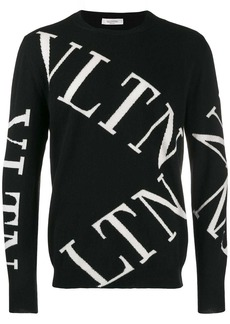 Valentino VLTN macro grid sweater