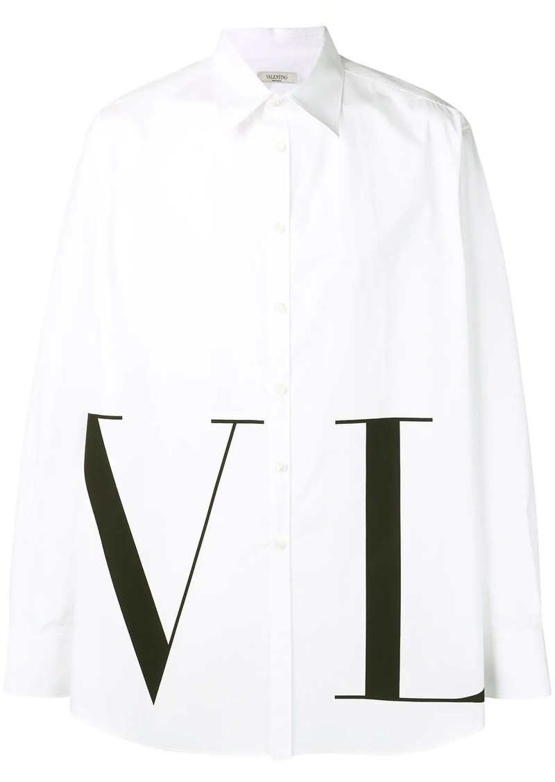 Valentino VLTN print shirt