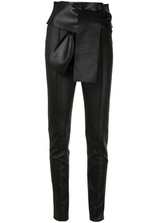 Valentino VLTN slim leather trousers