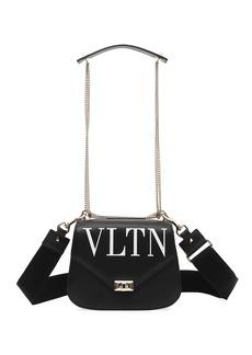 Valentino VLTN Smooth Leather Chain Shoulder Bag
