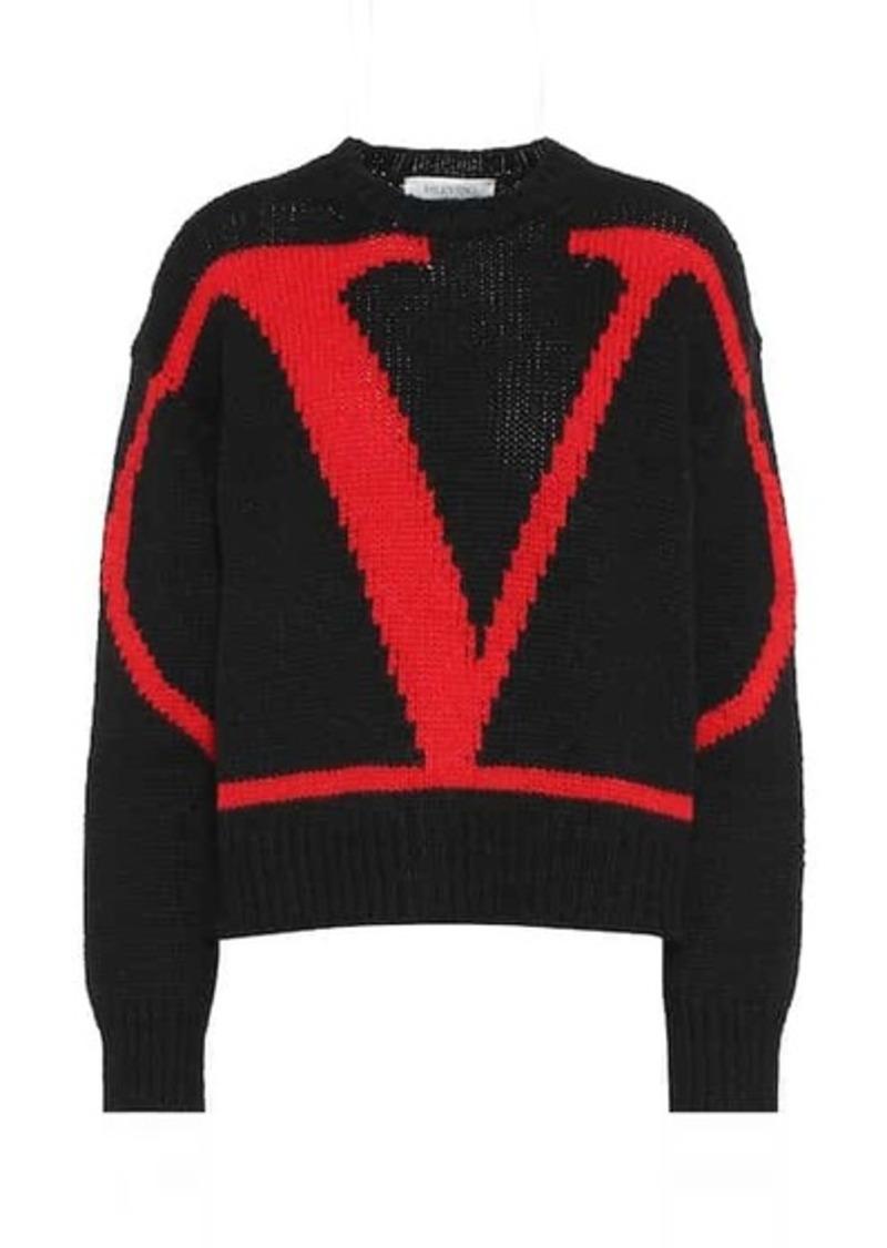 Valentino VRING alpaca-blend sweater