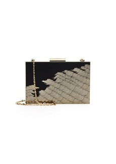 Valentino Wave Chain Strap Clutch