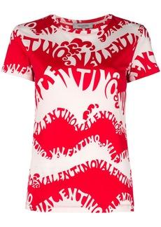 Valentino waves jersey T-shirt