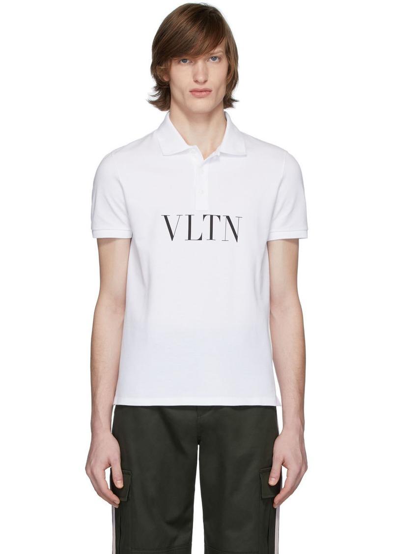 Valentino White 'VLTN' Polo
