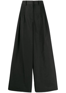 Valentino wide leg cropped trousers