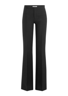Valentino Wide Leg Pants with Virgin Wool and Silk