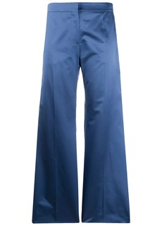 Valentino wide leg tailored trousers