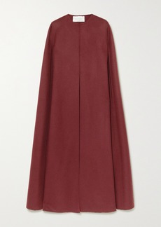 Valentino Wool And Cashmere-blend Cape