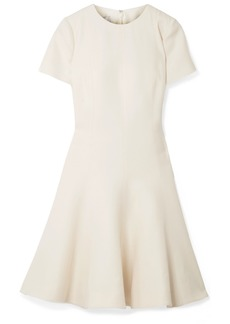 Valentino Wool And Silk-blend Dress