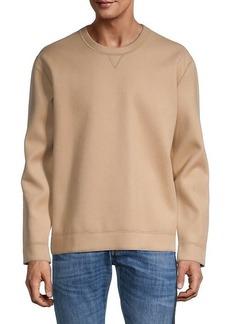 Valentino Wool-Blend Jersey Sweatshirt