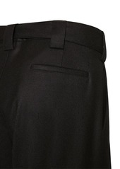 Valentino Wool Blend Pants W/belt