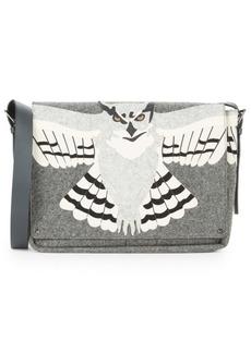 Valentino Wool Messenger Bag