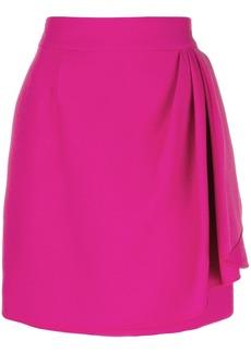 Valentino wrap front mini skirt