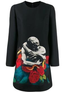 Valentino x Undercover Lovers print dress