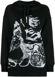Valentino x Undercover Lovers print hooded sweatshirt