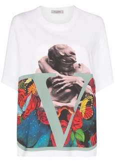Valentino x Undercover Lover print T-shirt