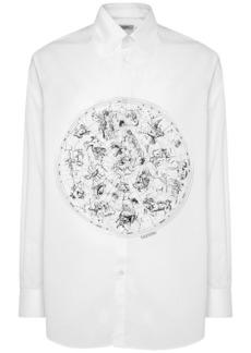 Valentino Zodiac Map Cotton Poplin Shirt