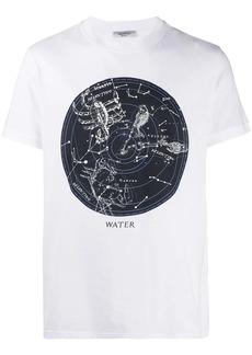 Valentino zodiac map print T-shirt