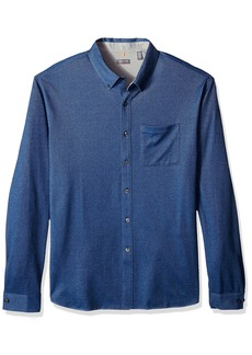 Van Heusen Traveler Coat Front Long Sleeve Shirt