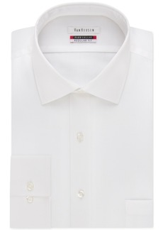 Van Heusen Big and Tall Classic-Fit Flex-Collar Solid Dress Shirt