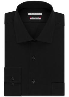 Van Heusen Big and Tall Classic-Fit Flex-Collar Solid Dress Shirt
