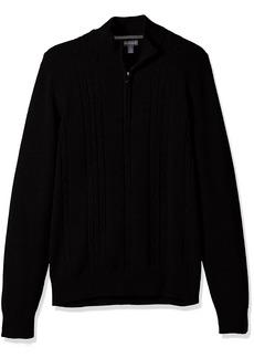 Van Heusen Men's 1/4 Cable Sweater