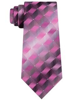 Van Heusen Men's 3-d Geometric Tonal Silk Tie