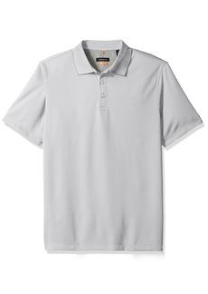 Van Heusen Men's Air Birdseye Short Sleeve Polo  Small