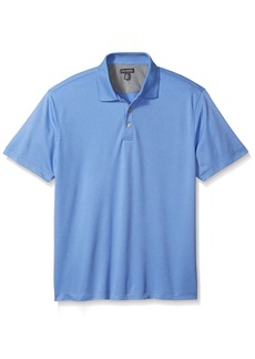 Van Heusen Men's Air Grid Short Sleeve Polo
