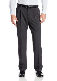 Van Heusen Men's Big & Tall Cuffed Crosshatch Pant
