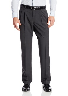 Van Heusen Men's Big & Tall Cuffed Crosshatch Pant