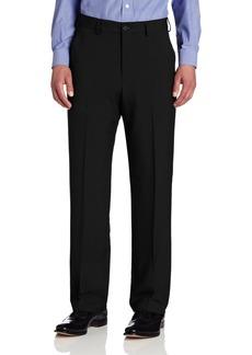 Van Heusen Men's Big & Tall Flat-Front Crosshatch Pant