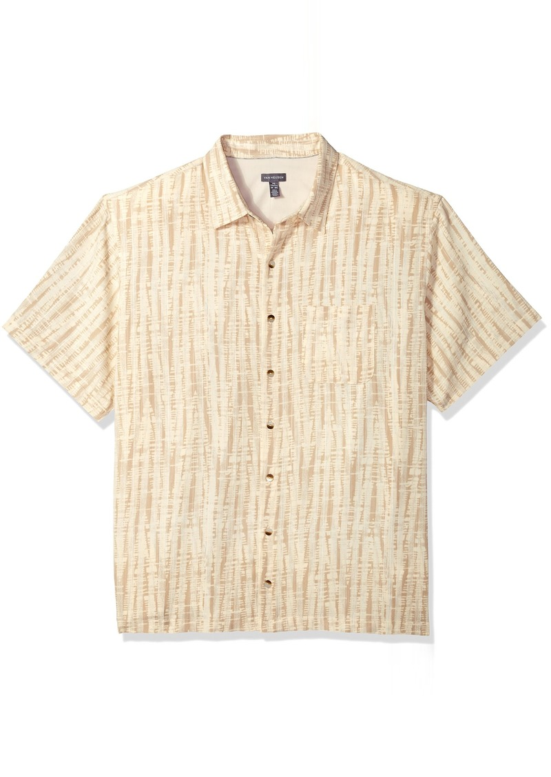 5b88fa21 Men's Big and Tall Oasis Printed Short Sleeve Shirt 2X-Large. Van Heusen.  $29.99 $23.77. from Amazon Fashion