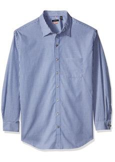 Van Heusen Men's Big and Tall Traveler Non Iron Stretch Long Sleeve Shirt  Large Tall