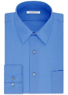 Van Heusen Men's Big Classic/Regular Fit Wrinkle Free Poplin Solid Dress Shirt
