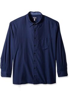 Van Heusen Men's Big Never Tuck Long Sleeve Shirt  3X-Large Tall