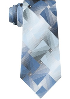 Van Heusen Men's Big Optical Geo Tie
