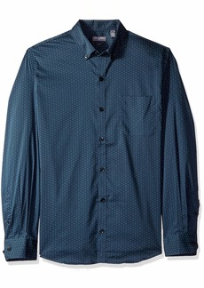Van Heusen Men's Slim Fit Flex Stretch Non Iron Shirt   Slim