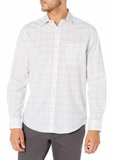 Van Heusen Men's Classic Fit Stain Shield Long Sleeve Button Down Shirt