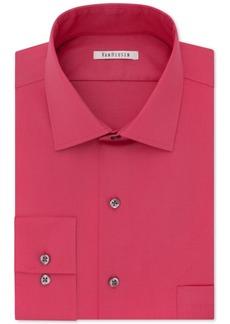 Van heusen van heusen big and tall wrinkle free poplin for Van heusen shirts flex collar